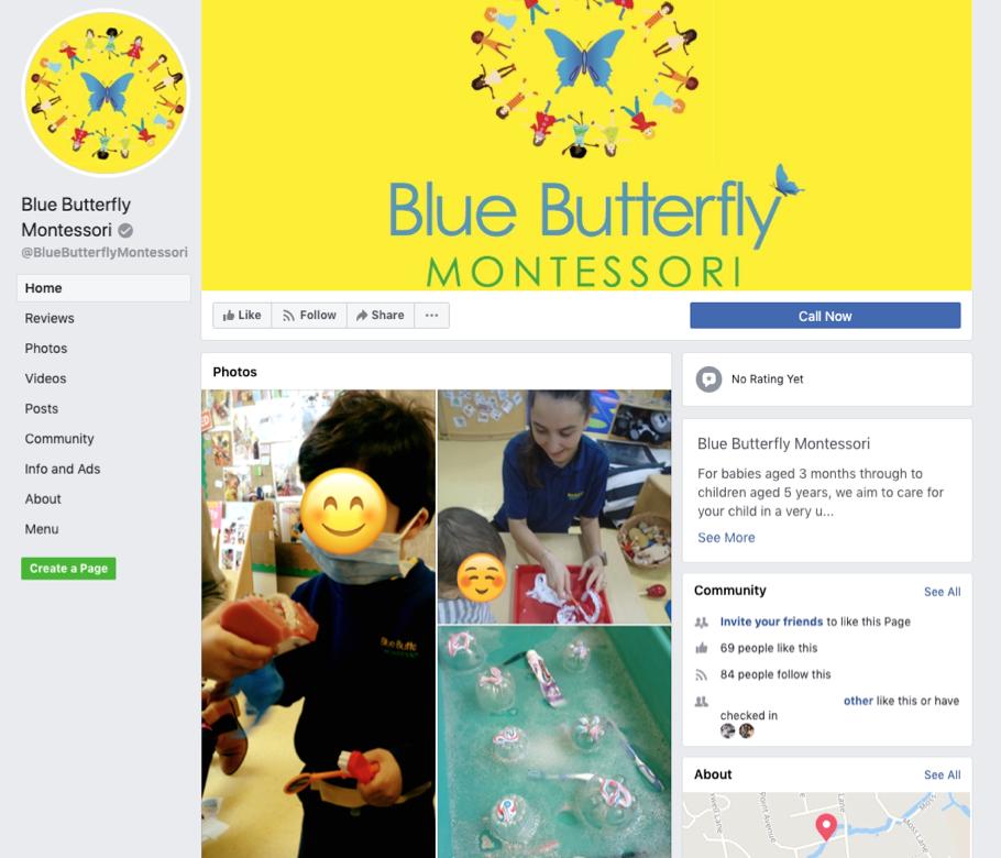 Follow us; Facebook!